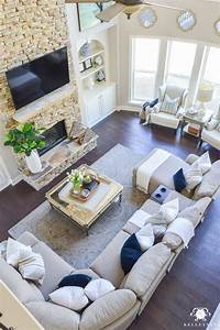 27 decorating ideas for large open living room 17 best With decorating ideas for living rooms pinterest