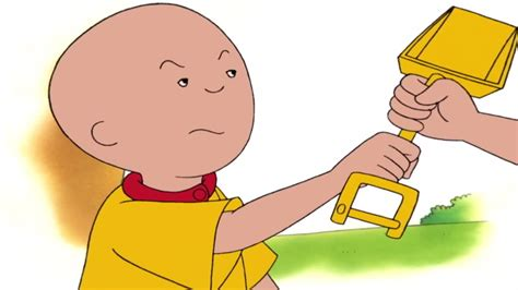 New! Caillou Goes To The Beach