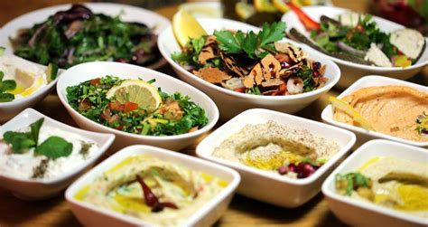 food canapes the health benefits of lebanese cuisine