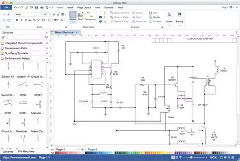 What Free Software For Drawing Electrical Circuits