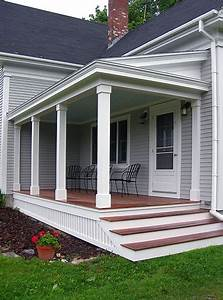Front Porch Design And Deck Pictures  I Like The Look Of