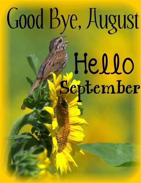 Goodbye, August Hello September Pictures, Photos, and Images for Facebook, Tumblr, Pinterest ...