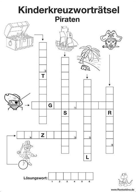 cruciverba da stare pdf kostenloses kinderkreuzwortr 228 tsel mit piraten schulideen