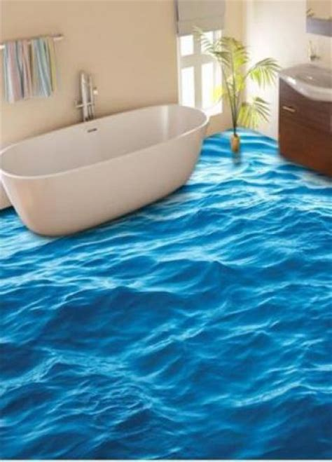 23 3D Bathroom Floors Design Ideas That Will Change Your