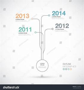 Outline Infographics Timeline Innovation Vector Stock