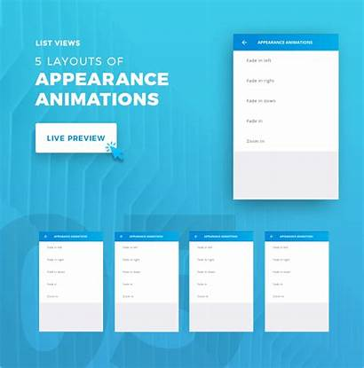 Ionic App Ui Theme Material Template Mobile
