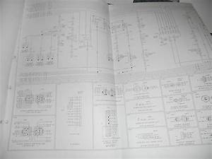 1980 Ford Truck Cowl Foldout Wiring Diagram F600 F700 F800 F7000 Electrical Oem Auto Parts And