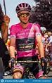 Abbiategrasso, Italy May 24, 2018: The Pink Jersey Simon ...
