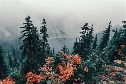 Fog Aesthetic Landscape Distance Mountains Nature Castelobruxo