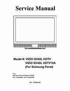 Vizio L37hdtv Sm Service Manual Free Download  Schematics