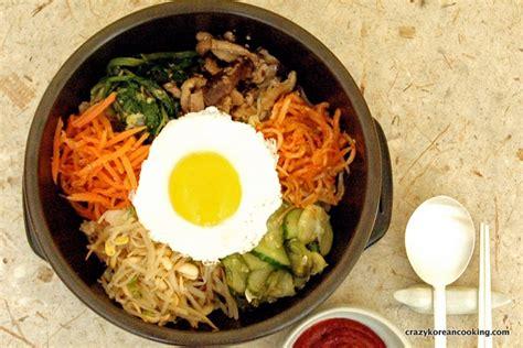 bibimbap recipe bibimbap recipe 1 classic dolsot bibimbap with vegetarian vegan option crazy korean cooking