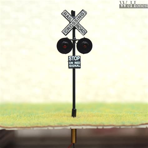 Scale Railroad Crossing Signals Leds Made