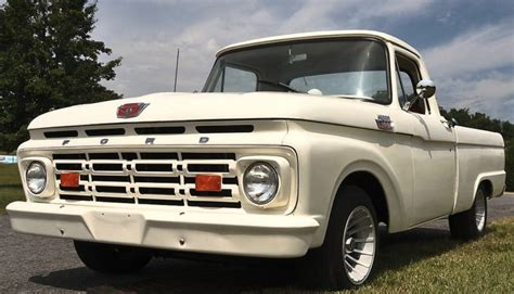ford truck white white ford truck