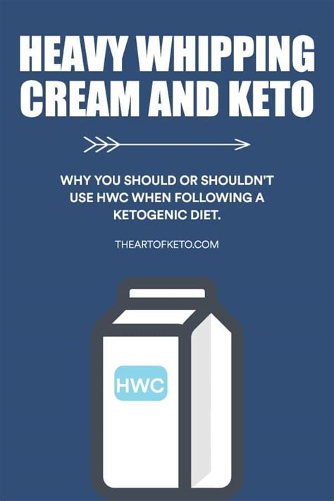 In talking to one of their baristas, i learned that they use heavy whipping cream in all of their drinks. All About HWC On Keto Heavy Whipping Cream - The Art Of Keto