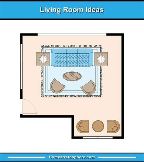 living room furniture layout examples floor plan