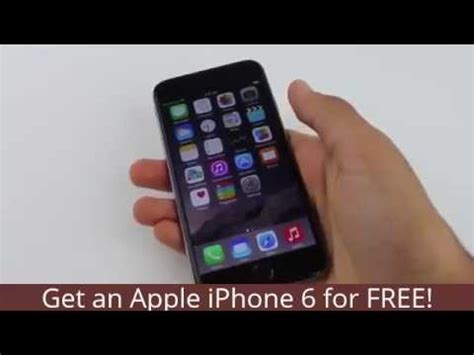 free apple iphone 6 get an apple iphone 6 for free