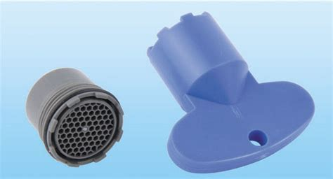 Hidden Sink Faucet Aerator with Key
