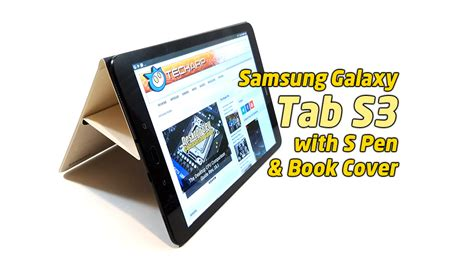 the samsung galaxy tab s3 sm t825 tablet review tech arp