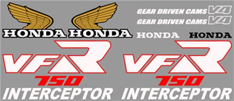graphics and stickers vfr series