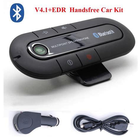 hands  bt car kit wireless bluetooth handsfree sun visor speaker mp  player multipoint