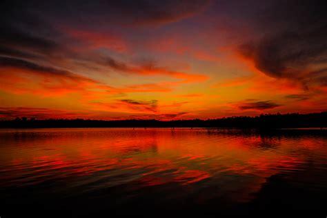 afrika set sunset lake kariba out on the boat on
