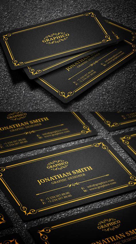 elegant business card psd templates design