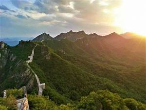 i hiked to an abandoned part of the great wall of china With deserted great wall of china