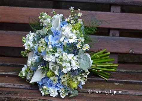 Wedding Flowers Blog Jennies Rustic Blue Silver And