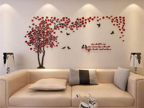 Red Wallpaper Designs For Living Room Beautiful Red And