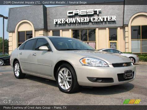 2008 Chevrolet Impala Ltz by Gold Mist Metallic 2008 Chevrolet Impala Ltz Neutral