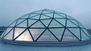 Skylight glass dome roof - VikingDome