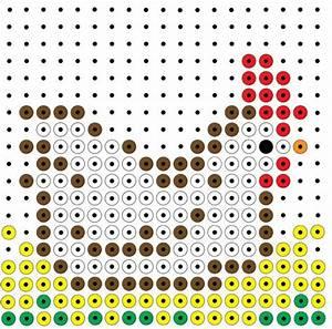 Bügelperlen Kreative Ideen : kralenplank kip kreative ideen hort kreative ideen b gelperlen en muster ~ Orissabook.com Haus und Dekorationen