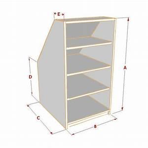 Meuble Pour Sous Pente : etag re sous pente sur mesure ~ Melissatoandfro.com Idées de Décoration