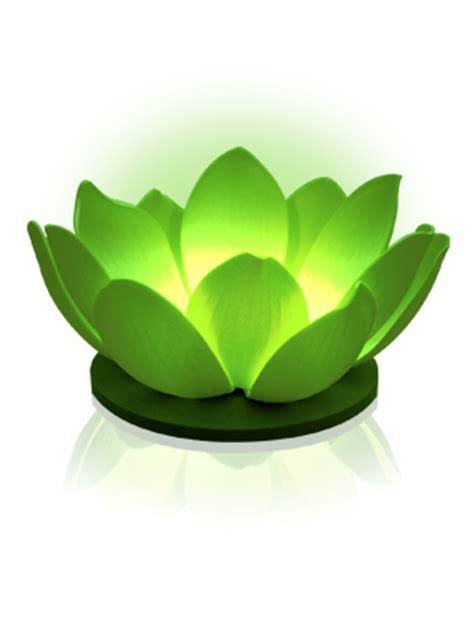 siret bureau veritas fleur flottante a led nymphea vert