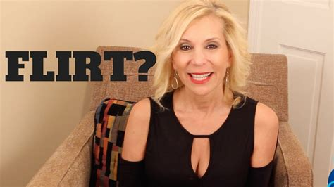 How To Know If A Cougar Older Woman Is Flirting Youtube