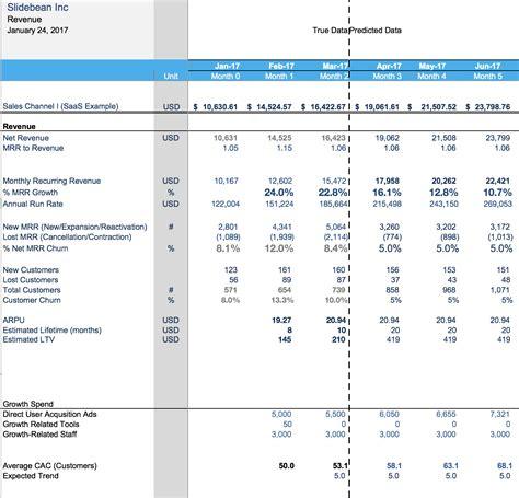 financial model template  spreadsheet