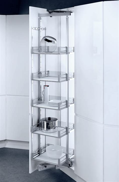 Pantry pull out HSA Rotary, Available basket variants