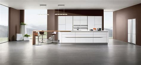 cuisine contemporaine fitted kitchens models and creations