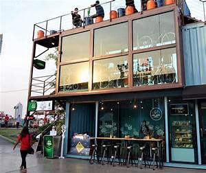 Container Haus Architekt : all ride caf in bangkokcontainer haus container haus ~ Indierocktalk.com Haus und Dekorationen