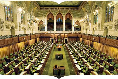 chambre des communes londres les canadiens et leur système de gouvernement vue de l