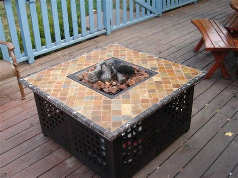 build gas fire table how to make a diy fire pit table top fire pit design ideas