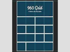 960 Grid PSD 4 Column Simon Web Design