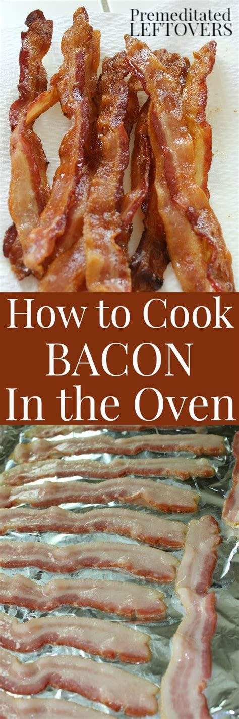 how to cook bacon in oven how to cook bacon in the oven directions and video tutorial