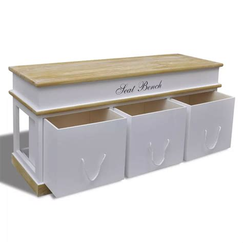 Bench Cabinet Storage by Vidaxl Co Uk Storage Bench Shoe Cabinet Entryway Bench