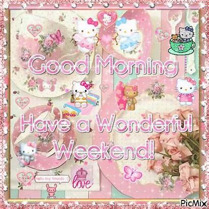 Weekend Morning Wonderful Friday Animated Blessings Refreshing