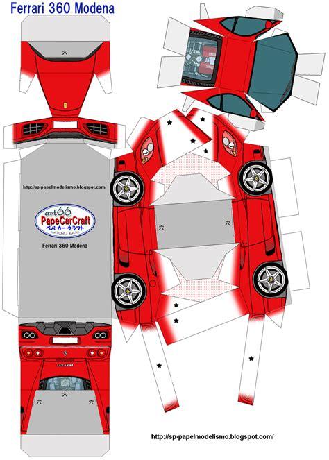 papercraft de autos deportivos taringa