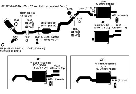 diagram 2000 honda civic parts diagram