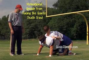 Motivational Speech From Facing the Giants: Death Crawl