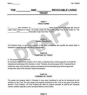 living trust forms oklahoma revocable living trust form create a revocable living trust