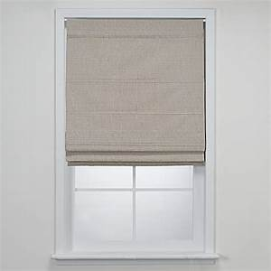 union square rod pocket 30quot roman shade bed bath beyond With bed bath and beyond roman blinds